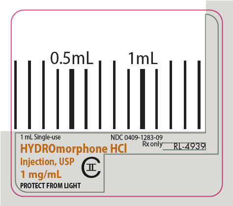 PRINCIPAL DISPLAY PANEL - 1 mg/mL Syringe Label