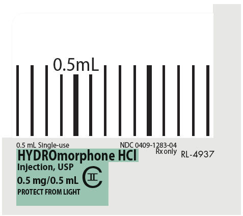 PRINCIPAL DISPLAY PANEL - 0.5 mL Syringe Label